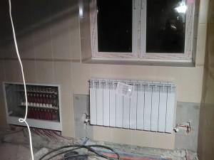 Замена батарей радиаторного отопления