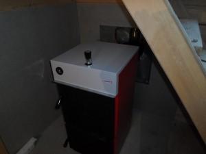 Установка водяного отопления