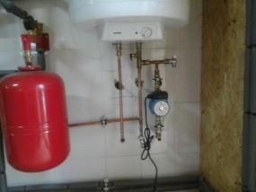Отопление дома дизельным топливом