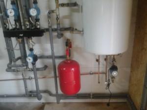 Отопление дома медными трубами