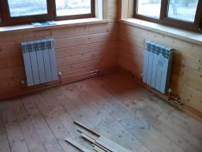 Отопление коттеджа биметаллическими радиаторами