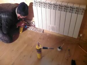 Радиаторное отопление дома