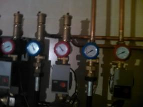 Отопление дома насосными модулями