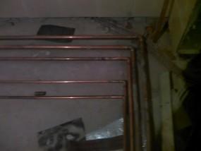 Отопление коттеджа панельными радиаторами