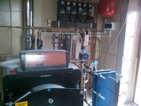 Отопление дома на солярке