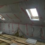 Установка радиаторов под мансардными окнами
