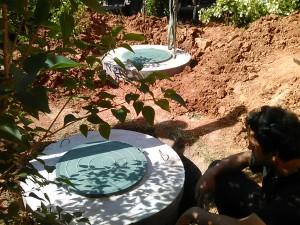 Установка автономной канализации дачи