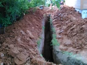 Монтаж автономной канализации частного дома