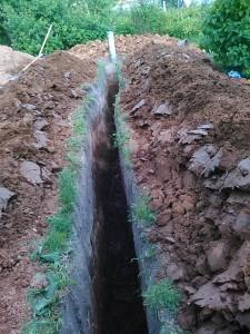 Монтаж автономной канализации коттеджа