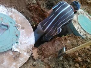 Установка водоснабжения коттеджа