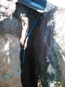 Замена водоснабжения дачи