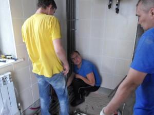Замена водоснабжения дома