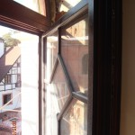 Окна из массива дуба