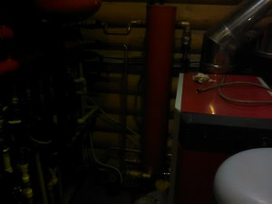 Установка газового отопления дачи