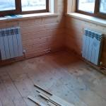 Отопление дачи частной котельной