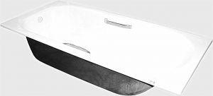 Чугунная ванна Ресса с ручками 150X70x42